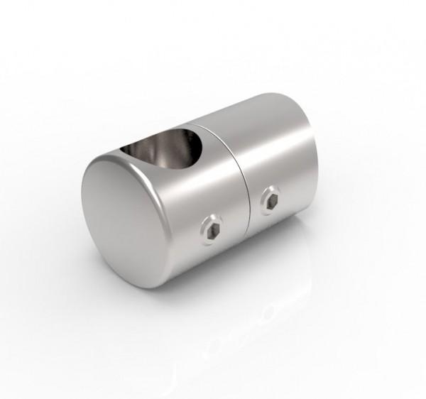 Universalhalter für Rundstäbe mit Sackloch