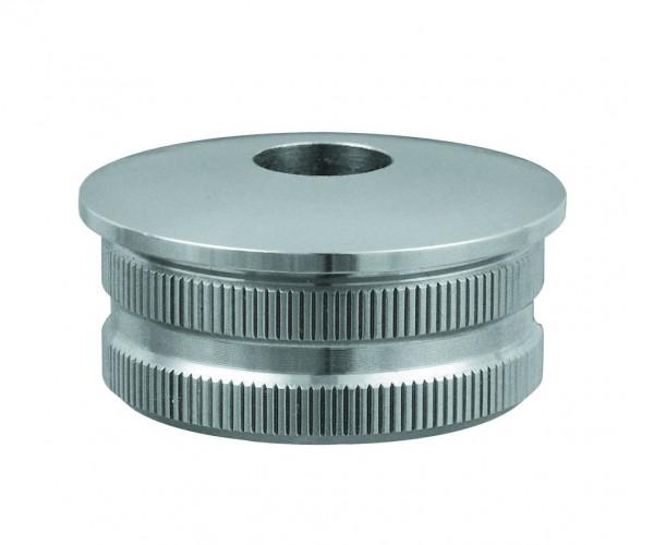 Endkappen mit Durchgangsbohrung D - 12,1 mm