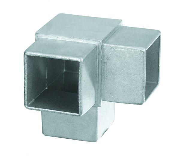 Rohrverbinder vierkant - Eckverbinder 90°