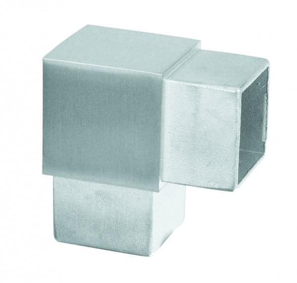 Rohrverbinder vierkant - Ecke 90°