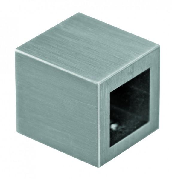 Axialverbinder vierkant