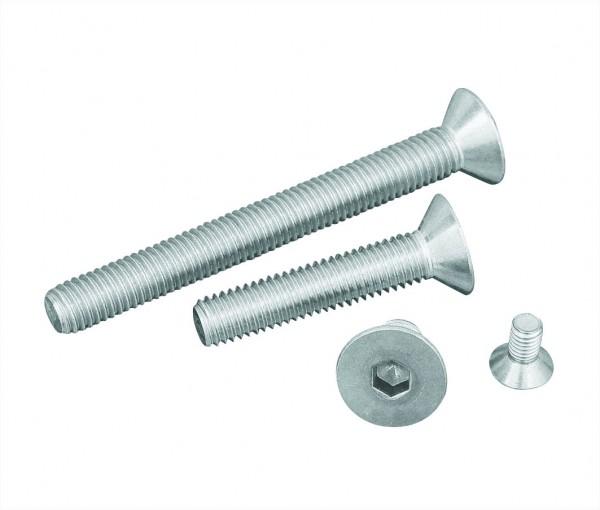 Senkkopfschrauben mit Innensechskant 2 DIN 7991