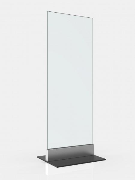 Ganzglasschutzwand